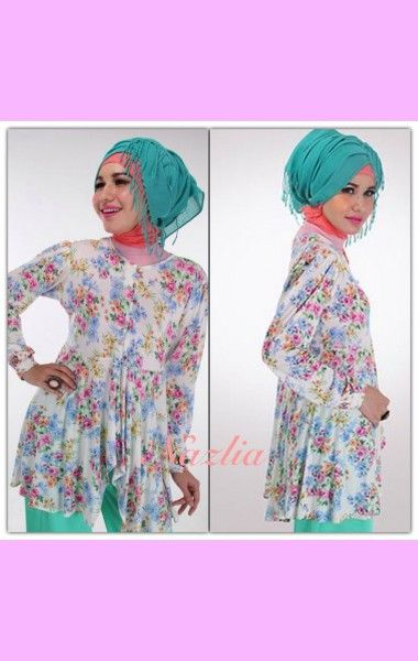 Maily Top - Butik Baju Muslim Online ~ Nazlia.Com