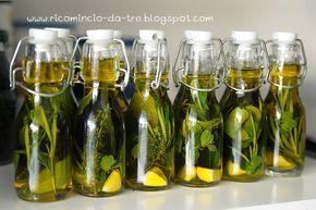 Ricomincio da tre: Olio aromatico fai da te