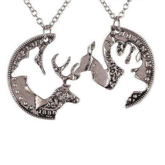 best 25  couple necklaces ideas on pinterest