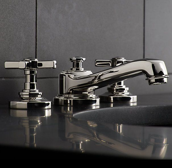 17 best images about the bathroom on pinterest lowes for Restoration hardware bathroom faucets