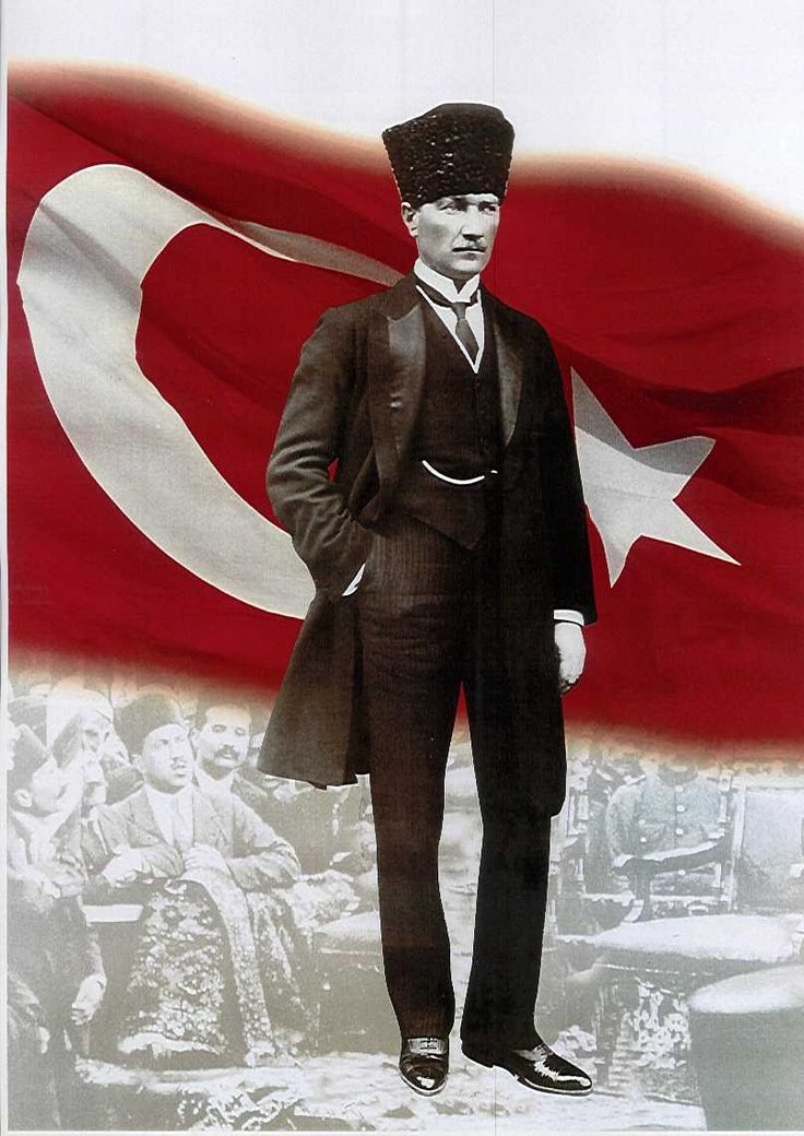 Mustafa Kemal Atatürk was a military officer during WWI. After the defeat of the Ottoman Empire, he led the Turkish National Movement and his military campaigns led to victory in the Turkish War of Independence. He then began to transform the old Ottoman Empire into a modern and secular nation-state. Under his leadership, thousands of new schools were built, primary education was made free and compulsory, and women were given equal civil and political rights...