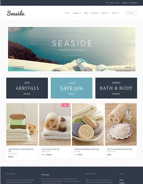 The 62 best Shopify Themes images on Pinterest | Website template ...