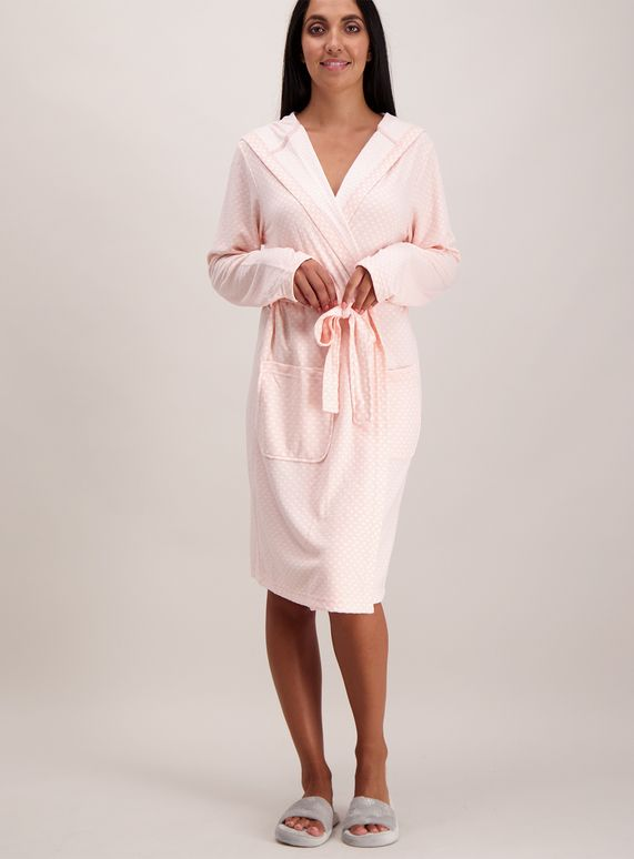 e15a217fa6 Pink Star Print Jersey Dressing Gown from Tu at Sainsbury s ! Your Online  Shop for Women s