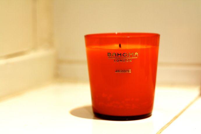 Bahoma Jasmine scented candle