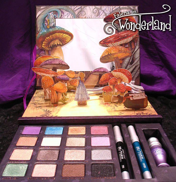Alice in Wonderland makeup - Urban Decay