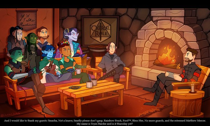 GALLERY: Critical Role Fan Art – Tenuous Ties | Geek and Sundry
