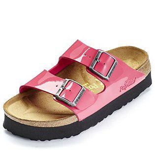 Papillio by Birkenstock Arizona Patent Platform Sandal