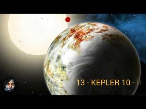 20 Exoplanetas Más Intrigantes Del Universo Conocidos INCREÍBLE - YouTube