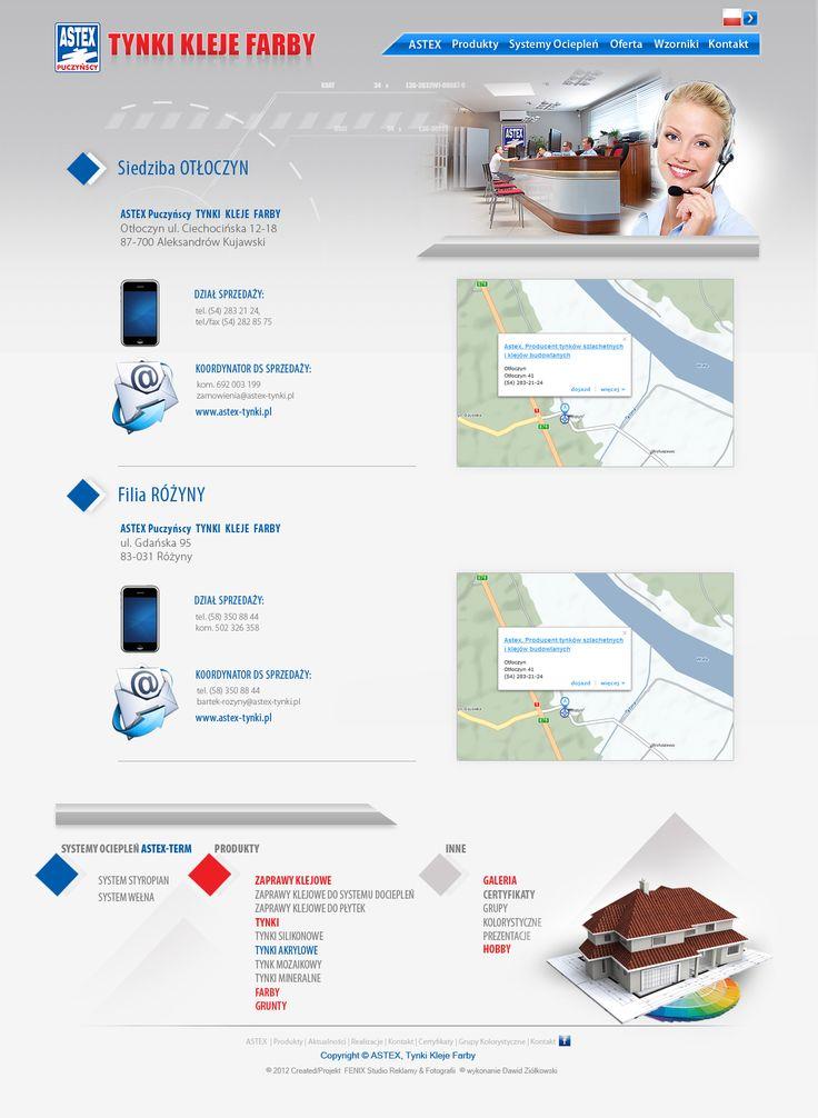 Prezentacja strony z kontaktem. Więcej na: http://www.astex-tynki.pl/kontakt/