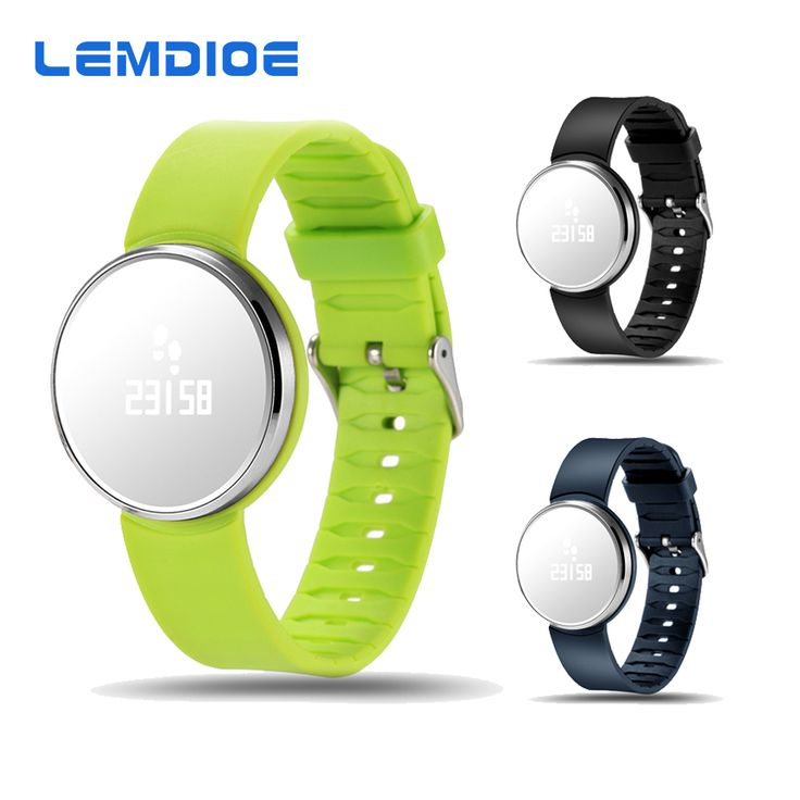 LEMDIOE UW1S Mirror Surface Screen Bracelet Heart Rate Bluetooth Smart Band for Android IOS Samsung Xiaomi Perfect for Women #Affiliate