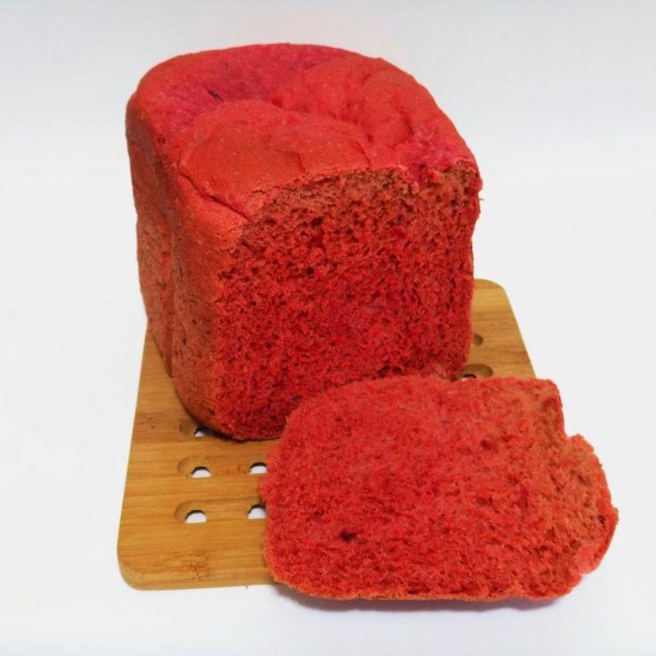 Pão de Beterraba 2 - Máquina de Pão