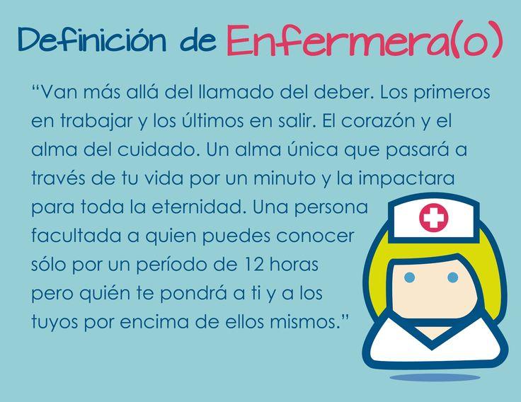 Definición de Enfermera(o)