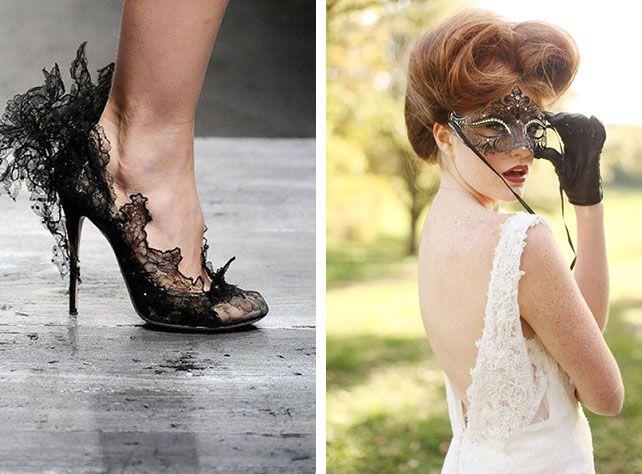 Образ невесты для свадьбы в тематике Хэллоуин