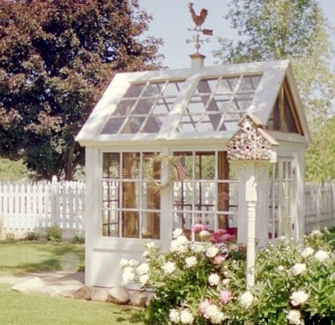 Pretty Garden shed! Won't fit in my garden though...