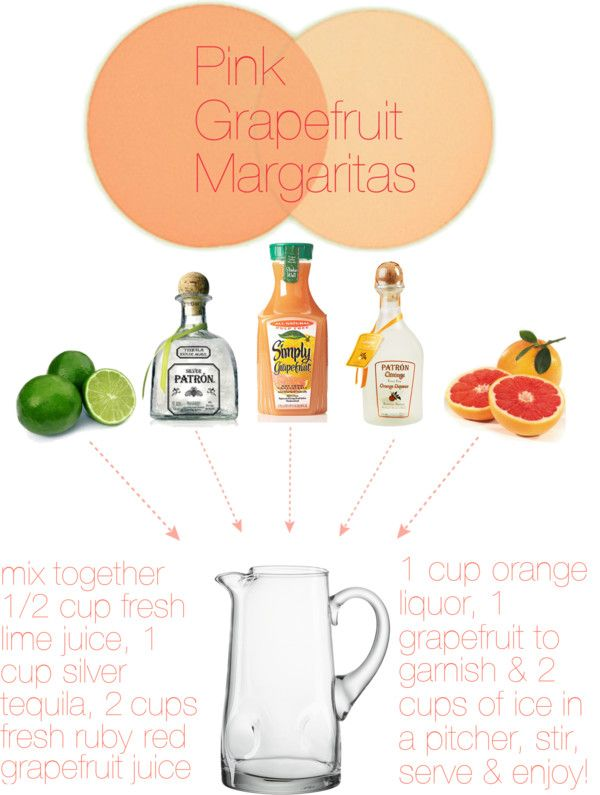 Dooley Noted Style: Thirsty Thursday - Pink Grapefruit Margaritas