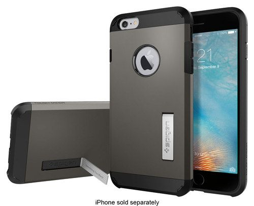 Spigen - iPhone 6S Plus Case Tough Armor - Gunmetal (Grey)
