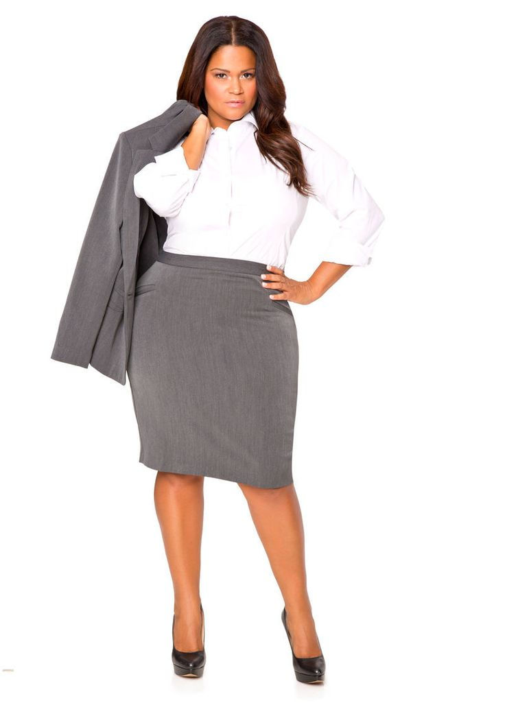 Plus Size Suiting and Wear to Work Options with Ashley ...