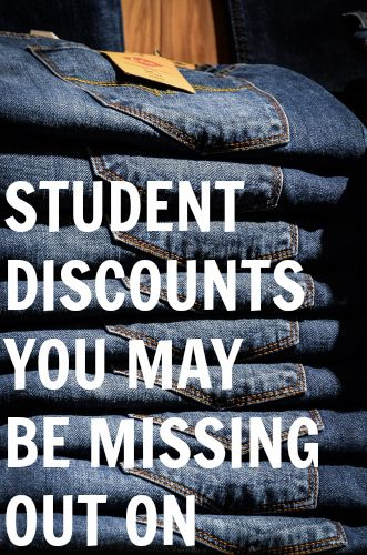 So much money can be saved by simply flashing your student ID card, yet so many college students never do this. I honestly don't even believe you have to be a current college student, you could sti... http://www.fitnancials.com/student-discounts-you-may-be-missing-out-on/