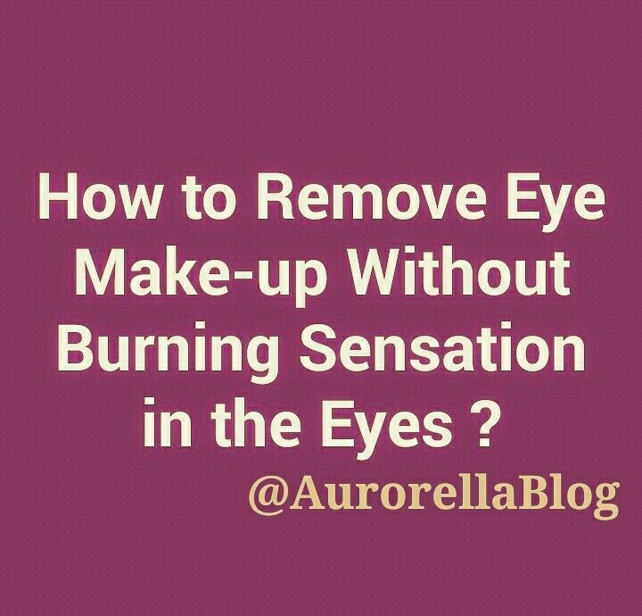 Take a Cotton ball and add a few drops of Coconut Oil (like Parachute Coconut Oil) OR Johnson's Baby Oil on it and wipe your eyes gently to remove makeup.  PS : Even if it gets into the eyes, it won't give a burning sensation like other makeup removers do. Simply wash your eyes with water !!! #AurorellaBlog #Aurorella #lifestylehacks #tipoftheday #diy #skincarehacks #beautyhacks #eyemakeup #makeupremover #skincare