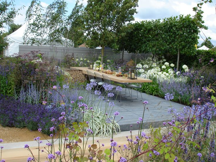 Paul Martin Garden RHS Hampton Court Palace Flower Show 2014