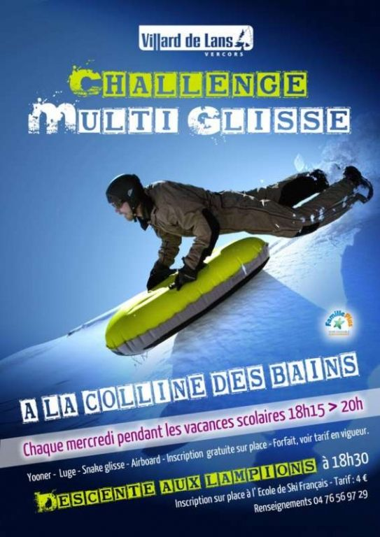 Challenge Multi Glisse, Villard-de-Lans (38250), Rhône-Alpes