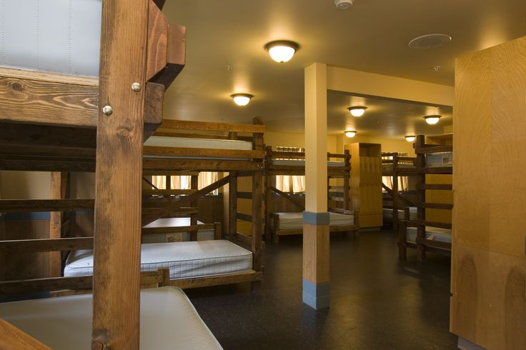 Inside our dorm rooms, plenty of space for guests with both single and queen bunk options. #summercamp #outdoorweddings #greatoutdoors