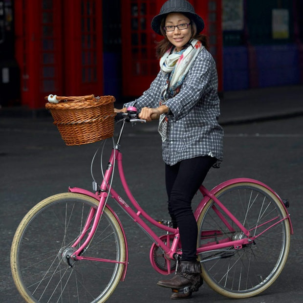 Cycle Style vs. Cycle Chic- I don't chose style,chic or speed.  I choose comfort and being outside, enjoying life!