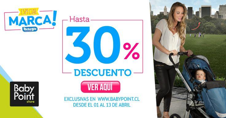 """¡Especial Marca """"BebeGlo""""! Aprovecha de vitrinear y comprar todos los productos BebeGlo con 30% de descuento en nuestra tienda online. Entra aquí y revísalos-> http://bit.ly/1yx30Tv"""
