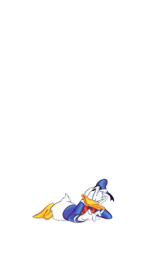 Donald-Duck-Impatient-iPhone-5-Wallpaper