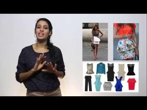 El buen vestir/ cuerpo tipo triángulo invertido - YouTube