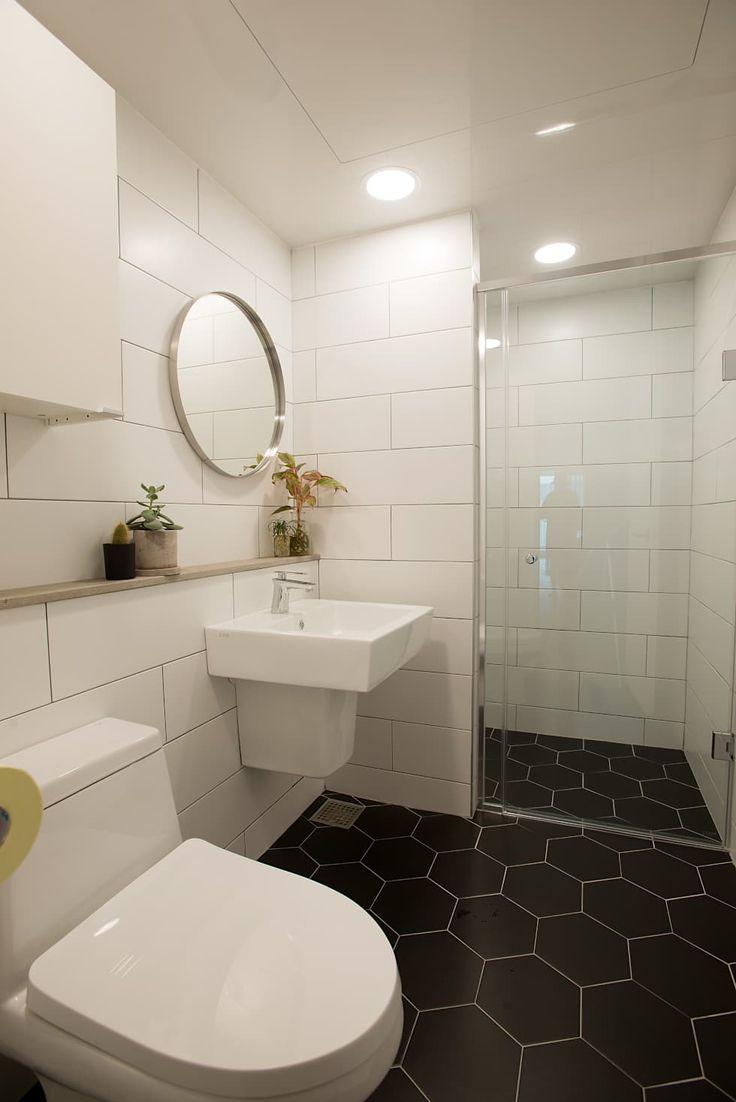 자연을 사랑하는 아이의 더불어 살아가는 집: (주)바오미다의  화장실