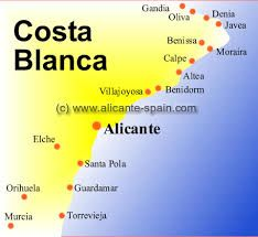 Image result for alicante spain map