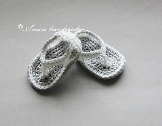 Crochet baby sandalsbaby boy sandalscrochet baby by Amaiahandmade