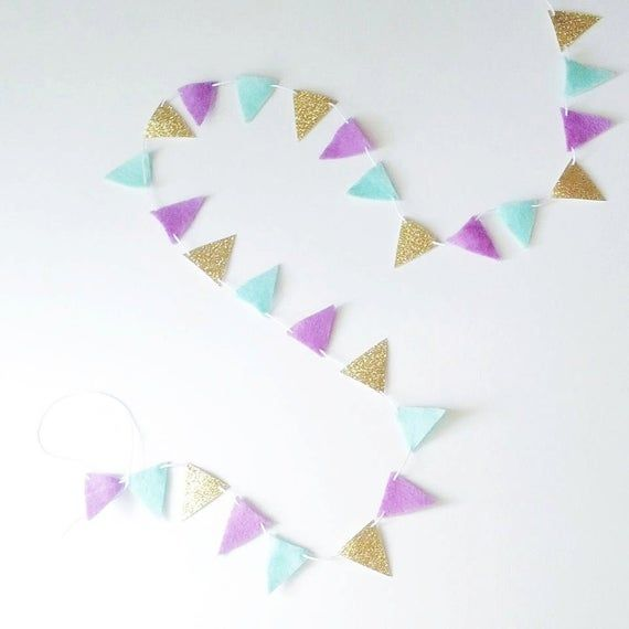 HAPPY BIRTHDAY Pink /& Gold Chic 12ft Pennant Flag Bunting