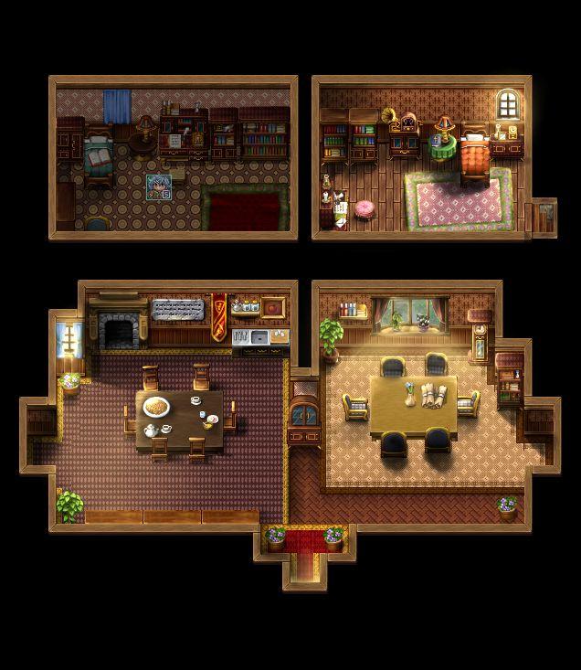 3/4 perspective pixel art