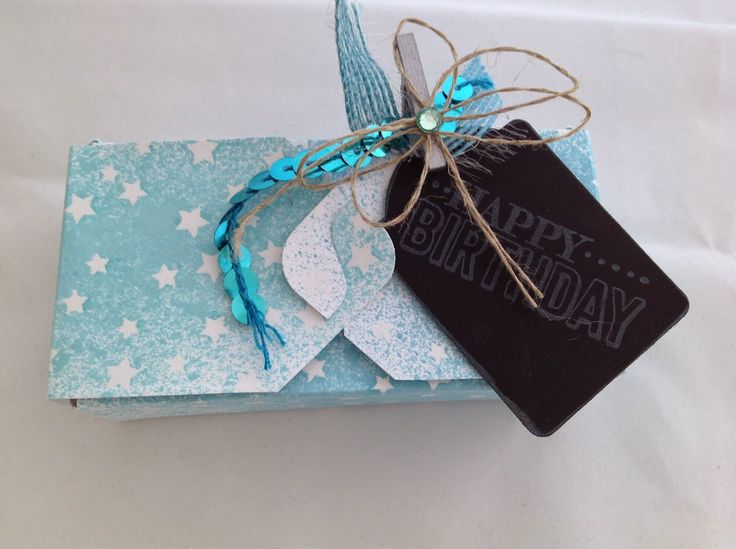 Stamping Craft: Altered Gift Box tutorial