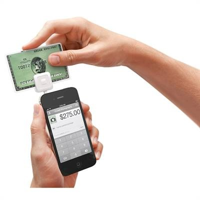 The Square Card Reader enables anyone to accept credit cards using nothing more than a smartphone. Just plug it in to your iPhone®, iPad® or Android® phone and you'll have a wireless credit card terminal you can use nearly anywhere. Use the Square Card Reader with the free Square iPhone®/Android app to start taking payments in minutes. Just plug it in and swipe a credit card. The money will deposit into your bank account the next day.