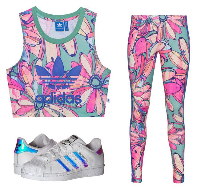 """Untitled #2"" by luc-ka on Polyvore featuring adidas Originals"