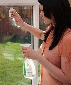 Vinagre Branco: é um produto natural e econômico que limpa, desinfeta, elimina gorduras, evita a formação de bolor e é excelente limpa-vidros. Compre-o em grande quantidade, misture-o com água (meio a meio) em um borrifador. Se o cheiro do vinagre for muito desagradável, acrescente um pouco de suco de limão.  A proporção da mistura para limpar vidraças é um copo de água (250ml) e uma xícara de vinagre (150 ml). O vinagre puro pode ser usado em batentes de portas e janelas para repelir…