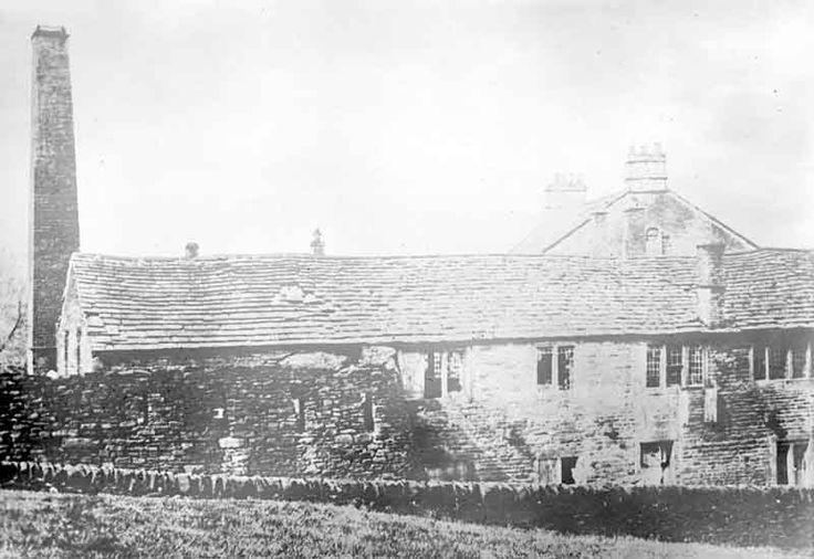 Ottiwells Mill, Marsden, 1927. Source: Kirklees Image Archive