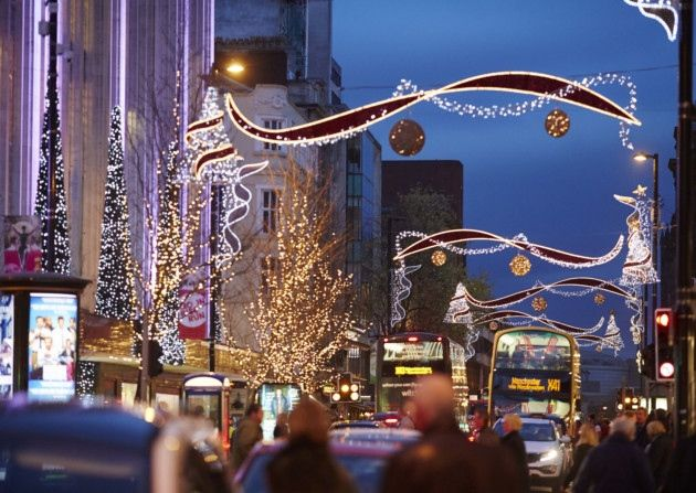 Manchester Christmas Markets and lights 2014 Photo Mark Waugh