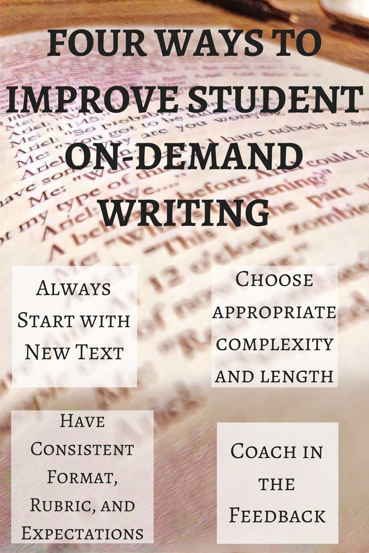 17 best ideas about essay generator high school four ways to improve on demand writing in students