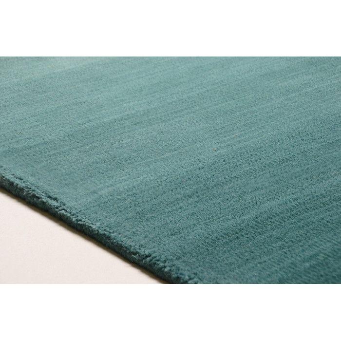 Handgewebter Teppich Wool Comfort in Türkis von Theko online kaufen bei Wayfair.de , Finden Sie  für jeden Stil & Geldbeutel