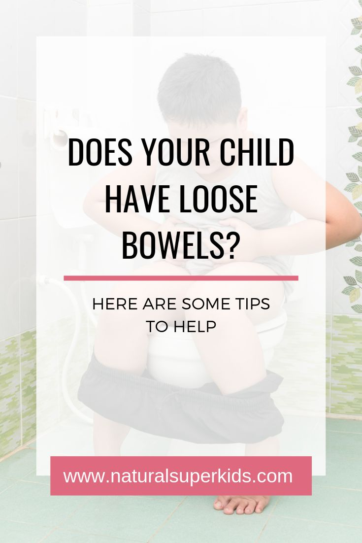 how to stop loose bowels movements