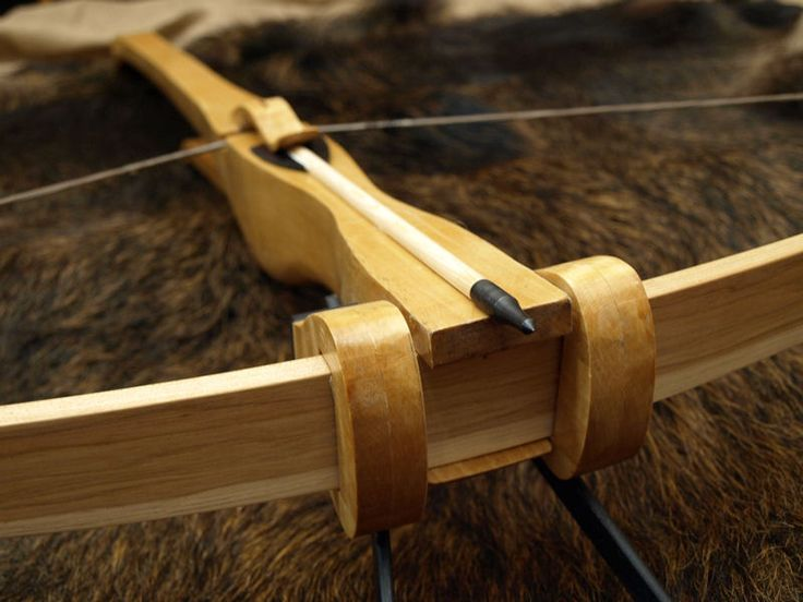Traditional Wooden Crossbow                                                                                                                                                                                 More