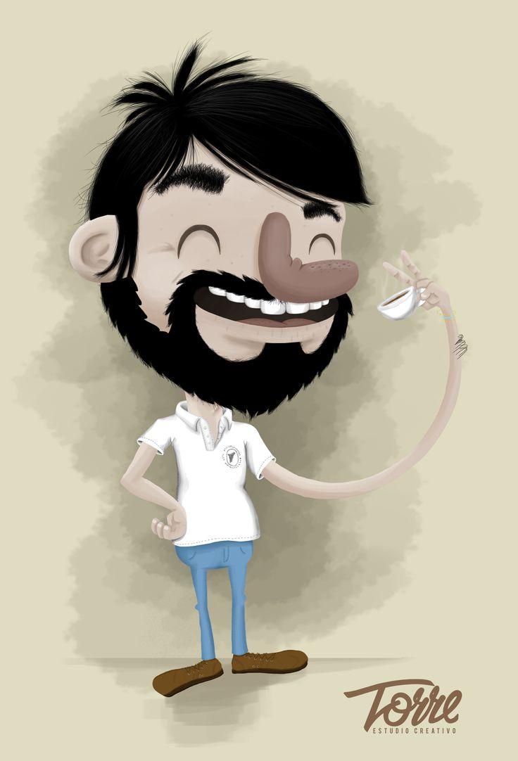 Nombre: Amor por el Café Ilustración de regalo párrafo this buen emprendedor de la ciudad de Armenia, Colombia y Un homenaje al amor del café.  https://www.facebook.com/MundoDiegoTorre  https://www.behance.net/gallery/23618225/Amor-por-el-Caf