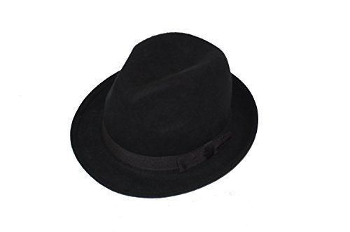 100 kr. GIZZY® Unisex Wool Felt Trilby Hat with Grosgrain Band. (57cm, Black) GIZZY® http://www.amazon.co.uk/dp/B00FEHJ53C/ref=cm_sw_r_pi_dp_5Vh3wb1S73SRE