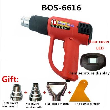 79.99$  Watch here - http://alip7h.worldwells.pw/go.php?t=32361212910 - free shipping 240V 1600W heat gun plastic welding torch electric hot air gun industrial drying gun hot air blower  BOS-6616