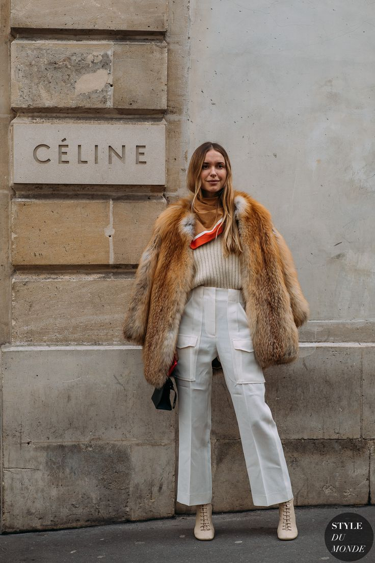Paris FW 2018 Street Style: Pernille Teisbaek