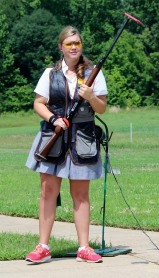 Cooper Matthews '17 placed second in the Ladies Junior Varsity Division in Trap Nationals held in Sparta, Illinois this past weekend.